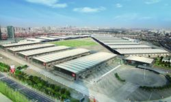 Overview of the venue Shanghai New International Expo Centre (SNIEC)